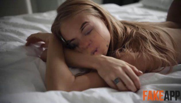 Ces vidéos pornos avec des têtes de stars générées par une I.A. font un