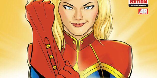 Les premières images de Brie Larson dans son costume de Captain
