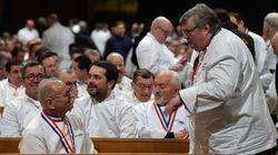 Joël Robuchon, Alain Ducasse, Yannick Alléno... les grands chefs présents aux obsèques de Paul
