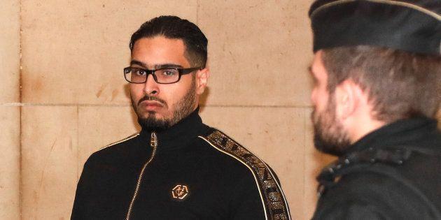 Jawad Bendaoud au Palais de justice de Paris le 21