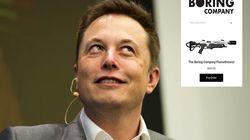 Et si le lance-flammes imaginé par Elon Musk était vraiment mis en