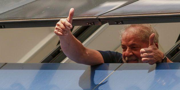 Au Brésil, Lula officiellement candidat à l'élection présidentielle depuis sa prison. (Illustration:...