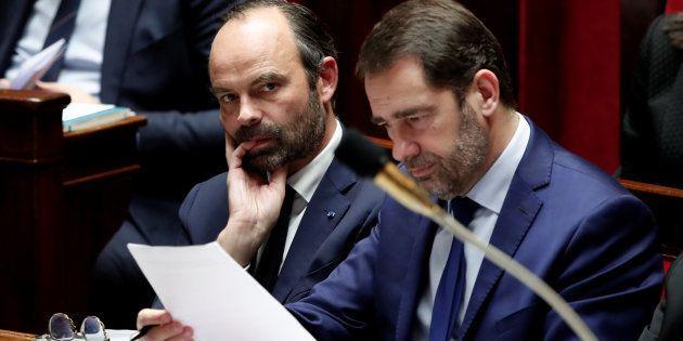 Le premier ministre Edouard Philippe et le délégué général de LREM Christophe