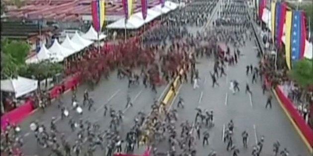 Venezuela: explosions pendant un discours de Maduro, le président
