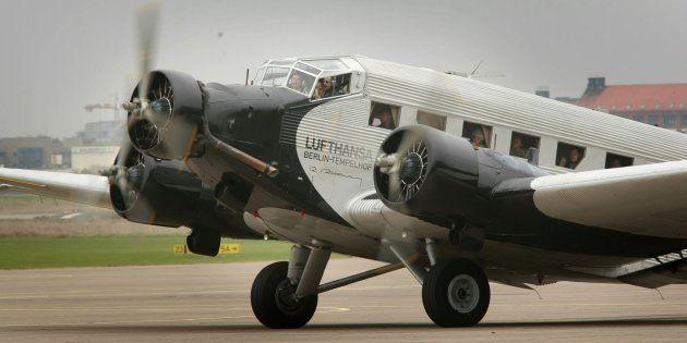 Un avion Junkers Ju 52 à