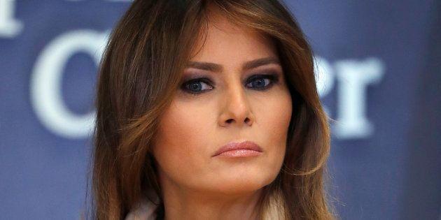 Melania Trump a dû dire qu'elle n'était pas vraiment d'accord avec son mari sur LeBron
