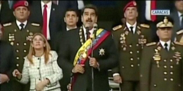 Venezuela: six personnes arrêtées après l'attaque contre Nicolas