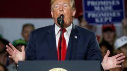 Trump admet que son fils a cherché à