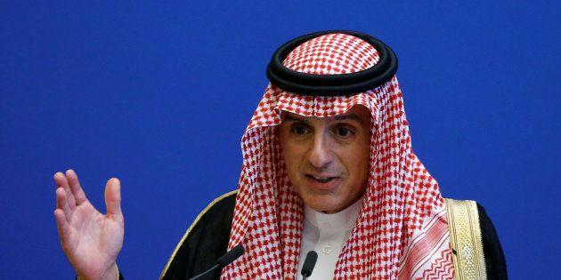 Le ministre des affaires étrangères, Adel bin Ahmed