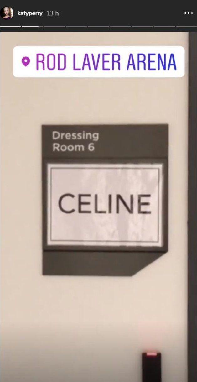 Katy Perry a rencontré Céline Dion en Australie et elle a été très