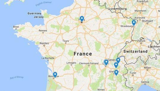 La carte des villes qui interdisent la circulation de certains véhicules face à la