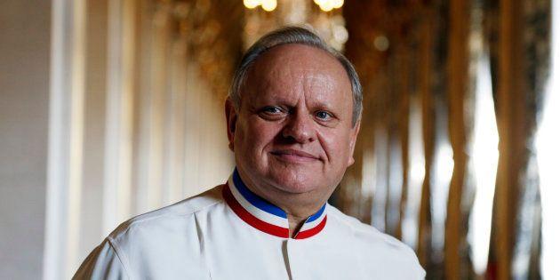 Joël Robuchon est mort, le célèbre chef cuisinier (ici en janvier 2016 à l'hôtel de ville de Paris) avait...