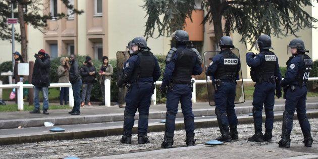 Manifestation en soutien à Théo à Bobigny le 16 février