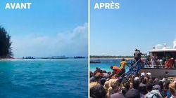 Les plages de Lombok et de Gili submergées de personnes en attente d'être