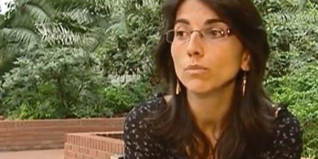 Claire Thépaut (ici en 2006, filmée pour un reportage de France 2), la juge dans le viseur de Marine...