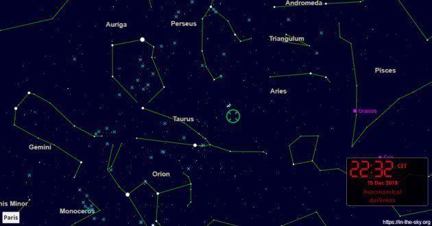 Les Géminides et la comète