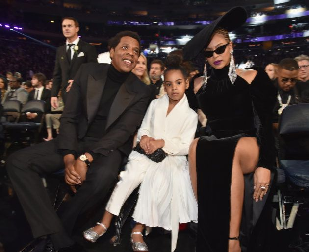 Grammy Awards: quand Blue Ivy recadre ses parents, Beyoncé et