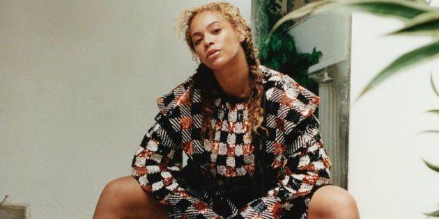 Beyoncé pose pour le magazine Vogue.
