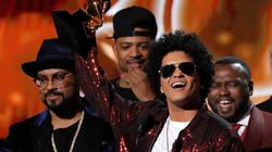 Bruno Mars roi des Grammy Awards
