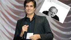 David Copperfield rend un hommage touchant à son ami Joël