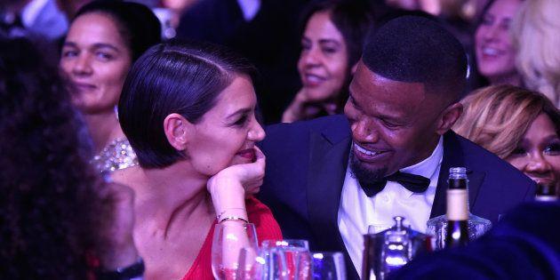 Grammy Awards 2018: Les regards de braise entre Katie Holmes et Jamie Foxx ne sont pas passés
