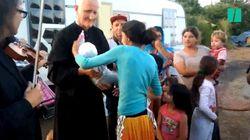 L'appel d'un prêtre à Macron contre les évacuations de