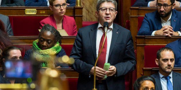 À l'Assemblée, Mélenchon a ardemment défendu