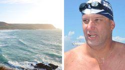 Ce nageur de l'extrême traverse l'un des plus puissants courants
