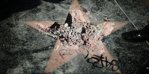 L'étoile de Donald Trump sur le Walk of Fame va-t-elle être enlevée? Le conseil municipal a