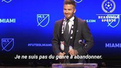 L'équipe de foot de David Beckham, basée à Miami, va intégrer la MLS, le Championnat