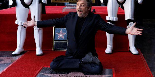 Si l'étoile de Donald Trump sur le Walk of Fame est retirée, Mark Hamill voudrait que Carrie Fisher le