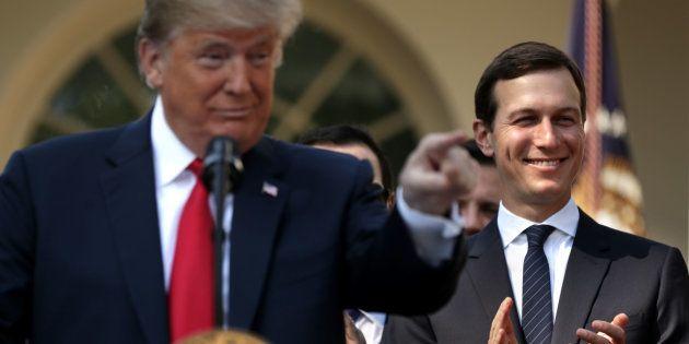 Jared Kushner est le mari d'Ivanka Trump, la fille du président des