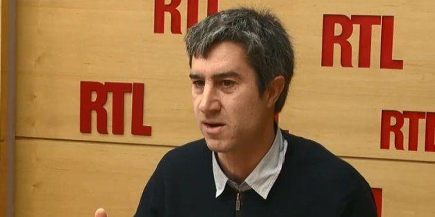 François Ruffin au micro de RTL mardi 30