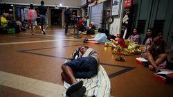 Les violents orages en Normandie ont fait vivre une nuit chaotique à 1500 voyageurs de la