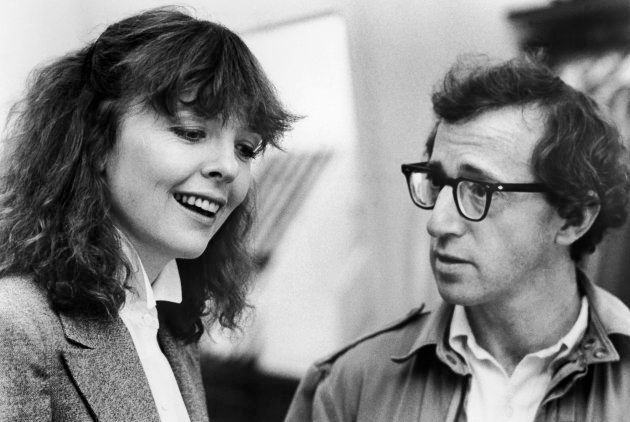 Diane Keaton et Woody Allen dans