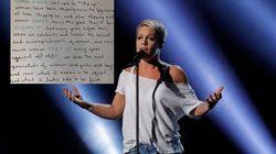 La réponse parfaite de Pink au président des Grammys après son conseil aux artistes