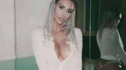Kim Kardashian et ses tresses n'ont pas fait de cadeau à Lindsay