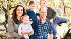 Kate et William ont choisi cette photo pour leur carte de