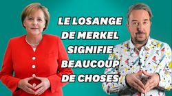 BLOG - Ce que ce geste d'Angela Merkel dit de sa relation aux