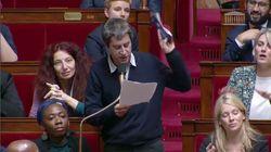 François Ruffin sort le carnet de chèques à l'Assemblée pour les