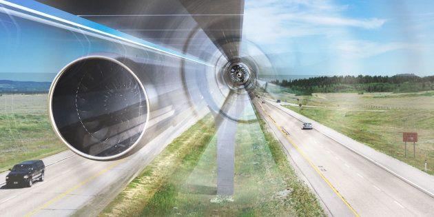 Un train Hyperloop subsonique bientôt à l'essai dans le