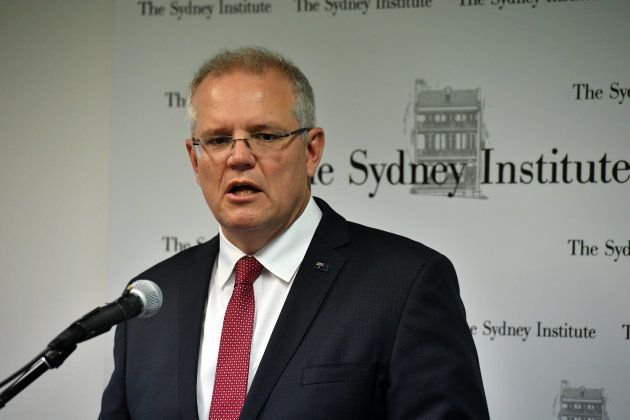 SYDNEY, AUSTRALIA - DECEMBER 15: Australian Prime Minister Scott Morrison announces that Australia will...