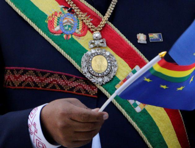 Bolivie: on a volé la médaille présidentielle, son gardien visitait des maisons