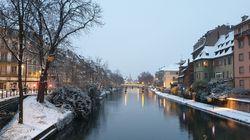 Strasbourg sous la neige, ce député y voit un signe avant la marche