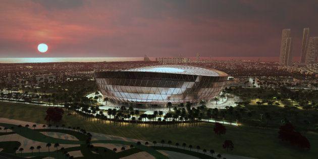 Pour le Mondial 2022, le Qatar dévoile le Lusail Stadium où aura lieu la