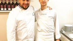 Léonard Trierweiler a cuisiné pour Emmanuel