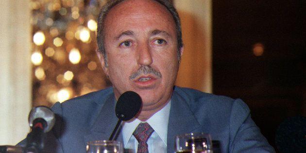 Bernard Darty, ici le 5 mars 1988 à Paris, est mort à Miami à l'âge de 84