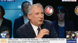 Bayrou donne des pistes