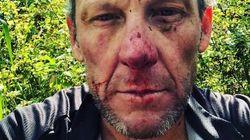 Lance Armstrong hospitalisé après un accident de