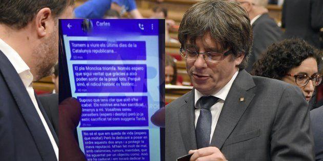 Catalogne: Puigdemont plaide